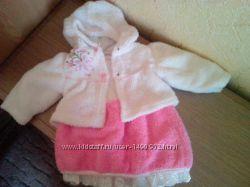 Теплое платье с болеро