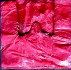 Полиэтиленовые пакеты- майка 24х45