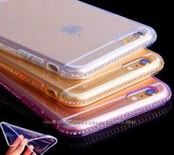 Защитные силиконовые чехлы для iPhone 5 5s 6 6s 7 7pl 8 8pl