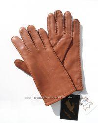 Размеры 6, 5 и 7 Перчатки из кожи оленя с тремя прострочками, Румыния
