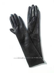 Размеры 6, 5 до 8, 5 Длинные перчатки из кожи козленка на вязке