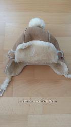 Шапка ушанка зимняя GAP, на возраст 0-6 мес.
