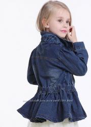 Стильные джинсовые куртки для принцесс в наличии