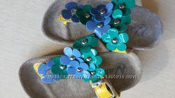 Торговая марка Naturino. вьетнамки. кожаная обувь. шлёпки кожаные
