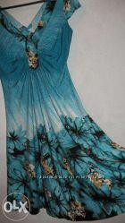 Шелковое платье фирмы Morgan de toi размера L