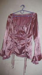 Нарядный костюм  блузка и юбка, размер M-L