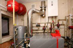 Ремонт, монтаж газовых котлов, колонок, водонагревателей, кондиционеров Днепр