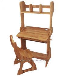 Комплект Парта, стул, надстройкаширина 60см