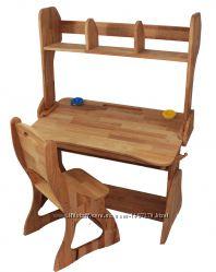 Комплект Парта, стул, надстройкаширина 90см