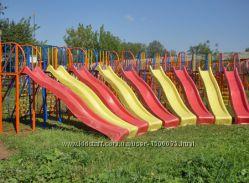 Детская горка пластиковая 3 метра KBT Бельгия