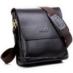 Мужская чоловіча сумка Polo сумка через плечо. Распродажа. Дешево