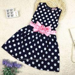 bc317621b74c1d1 Нарядное детское платье в горошек, 320 грн. Детские платья, сарафаны ...