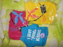 Яркие футболки для миников
