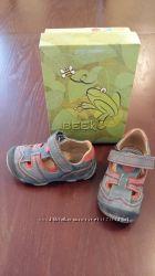Босоножки туфли сандали кожаные для мальчика Beeko размер 22, стелька 13 см