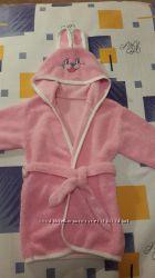 Банный халат для девочки 1, 5-2 года.