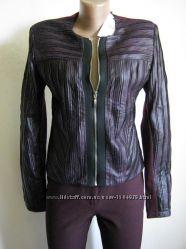 Rinascimento жакет новый с кожаными вставками спереди