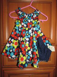новое платье с трусиками GEORGE 0-3мес
