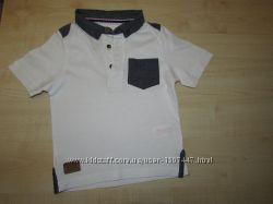 футболка-поло  REBEL и майка F&F на 2-3 года 92-98см