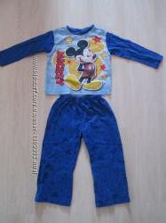 Пижама трикотажная Микки Маус, Mickey на мальчика 2 - 4 года