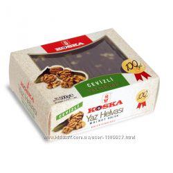Тахинная халва с грецкими орехами