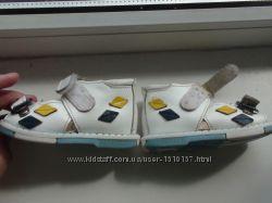 Ортопедичні шкіряні сандалі таши орто 17 розмір для перших шагів