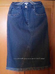 Джинсовая юбка на девочку TCM