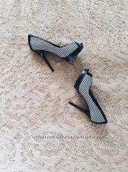 Крутые туфли из натуральной замши