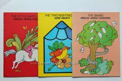 Сказки на английском со страницами- раскрасками