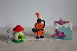 Киндер-сюрприз и др. игрушки из шоколадных яиц 90-е годы