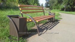 Комплект парковый скамейка и урна