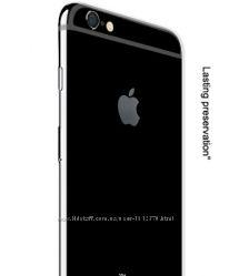 Ультра тонкий ТПУ чехол для телефона iPhone 6 6s Plus