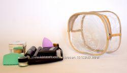 Прозрачная косметичка для бассейнасауныпутешествий