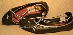 Германия, Puma, Оригинал Кожаные мягкие спортивные балетки туфли, 39р-р