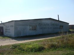 Виробничо-складське приміщення в с. Загвіздя