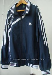 Куртка-вітрівка ветровка легка adidas F50 репліка. Ріст - 158 см