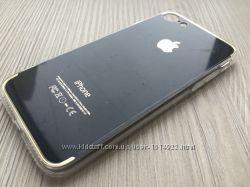 Накладка-чехол Star Case TPU NEW iPhone 7 черный обода прозрачные