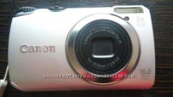 Фотоаппарат Canon PowerShot A3300 IS Silver
