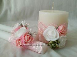 Свадебные свечи Домашний очаг