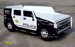 Кровать-Машина Hummer Police из Мдф