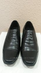 новые мужские туфли кожаные черные