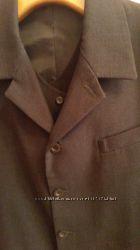 Костюм мужской черный тройка, пиджак