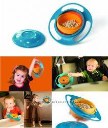 Детская тарелка-непроливайка Gyro Bowl