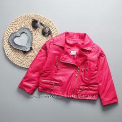 Косуха куртка короткая в наличии на рост 100см розовая