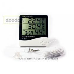 Домашняя метеостанция HTC-2 термометр, влагомер