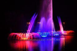 Поющие фонтаны Рошен