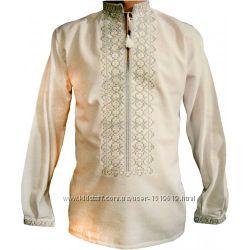 Вышиванка мужская машинной вышивки