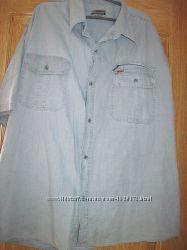 Рубашка светло- серого цвета  5XL60-62