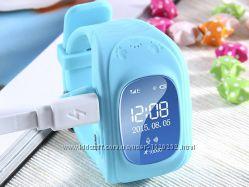 Детские GPS часы Smart Baby Watch Q50 LCD blue