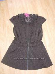 Платье на заклепках, L, 48 разм