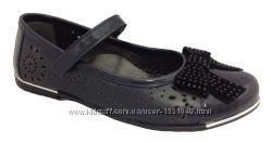 школьные туфли для девочки МИНИМЕН кожа